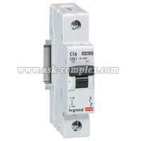 Автоматический выключатель LR 6000 - 6 КА, 1П - 230/400 В 16 A, тип C