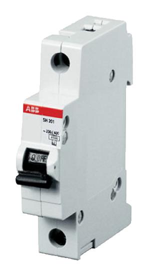 Автоматический выключатель (однополюсный 6 А) SH201-C6