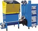 Автоматический водогрейный котел на любой биомассе АКО-15