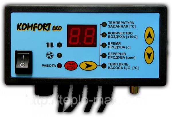 Автоматика для котла Идмар (Вихлач, Вичлас) Регулятор Komfort Eko (Комфорт Эко)