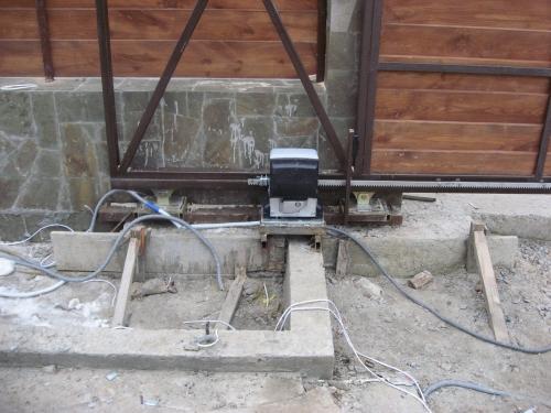 Автоматика для откатных ворот
