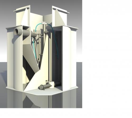 Автономная канализация AS-VARIOcomp 15K для частных домов и котеджей, производительностью 2,25 м3/сут.