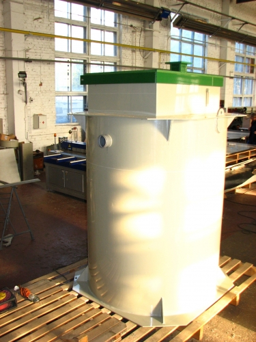 Автономная канализация, станция очистки сточных вод.
