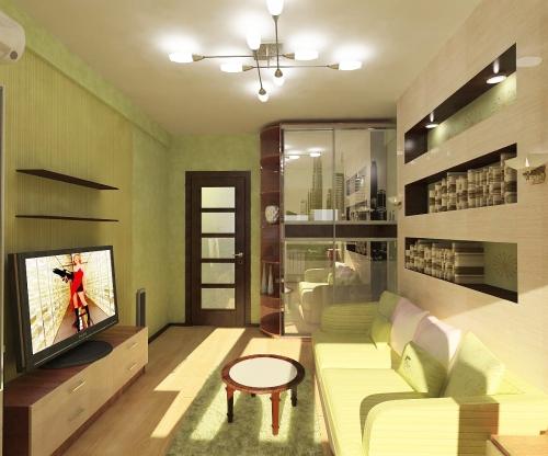 Авторский дизайн интерьера квартиры