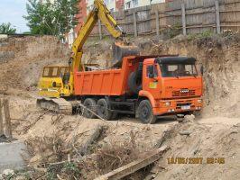 автосамосвал КАМАЗ 6520 (20 тн)