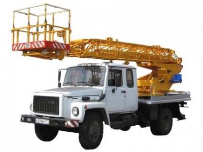 Автовышка ГАЗ , в/п: 17 м (a 0,5 м), телескоп