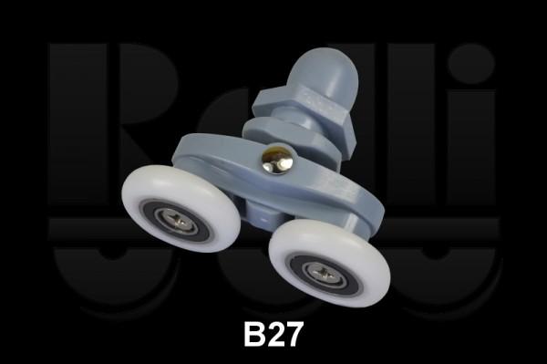 B27 верхний двойной диаметр 23, 26 мм