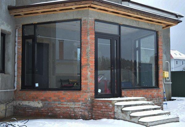 Фото 4 Алюминиевые окна для квартир, террас, коттеджей и любых помещений 3038