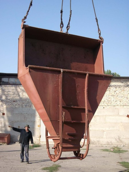 Бадья бетоноприемная Туфелька