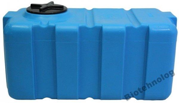 Фото  1 Бак, бочка, емкость 200 литров пищевая прямоугольная, крышка d 22 см SG 1985428