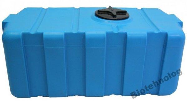 Фото  1 Бак, бочка, емкость 300 литров пищевая прямоугольная, крышка d 22 см SG 1985434