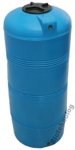 Фото  1 Бак, бочка, емкость 320 литров пищевая вертикальная 300 350 400 V 1985430