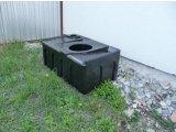 Фото  1 Бак, емкость 250 литров для туалета, биотуалета, унитаз 300 200 1985455