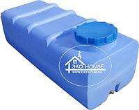 Баки пластиковые для воды. Квадратная пластиковая емкость(бак) 500 литров.
