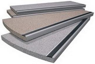 Balcotec ® плиты из пресcованых материалов для современных балконов и ступеней.