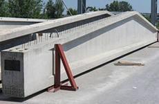 Балка двух-скатная усиленная 12м под плиту перекрытия ПК, ПКЖ, Паты(12х3х0,40).