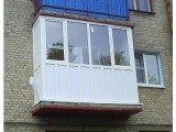 Балкон 3 метра. Остекление