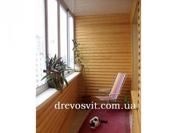 Фото  1 Блок хаус сосна для зовнішніх та внутрішніх робіт. Сухий (вологість 10-12%), шліфований. Ціни виробника. Доставка. 1864044
