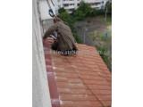 Крыша на балкон из композитной черепицы. Монтаж, материал, доставка.