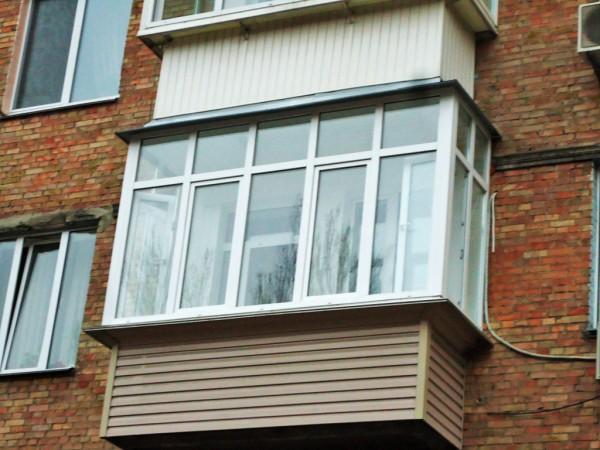 Балкон под ключ цена