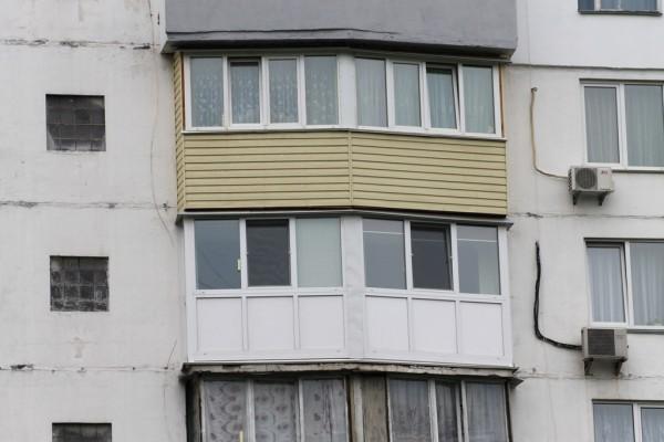 Балкон под ключ в БСП-6 серии дома