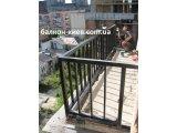 Окраска ограждений балконов и лоджий. Киев