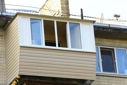 Балкон с крышей в хрущевке цена 28000 грн. заказать в киеве .