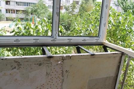 Балкон с выносом Киев цена