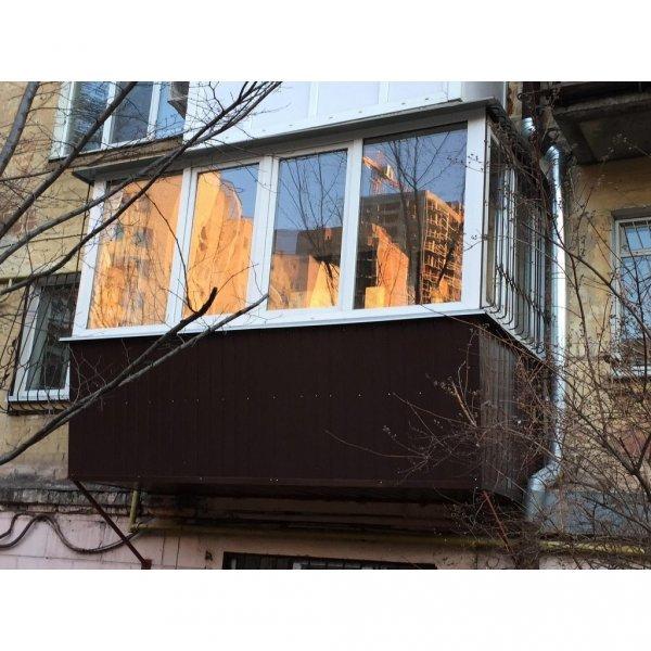 Фото  1 Балкон с выносом по полу 1444817