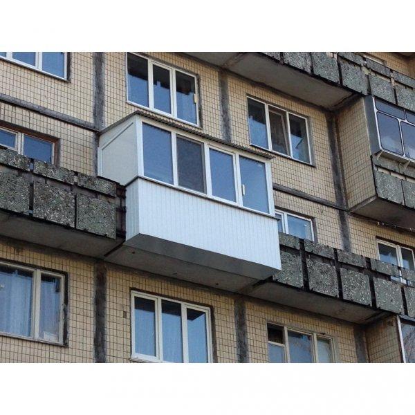 Фото  1 Балкон с выносом пола 1444816