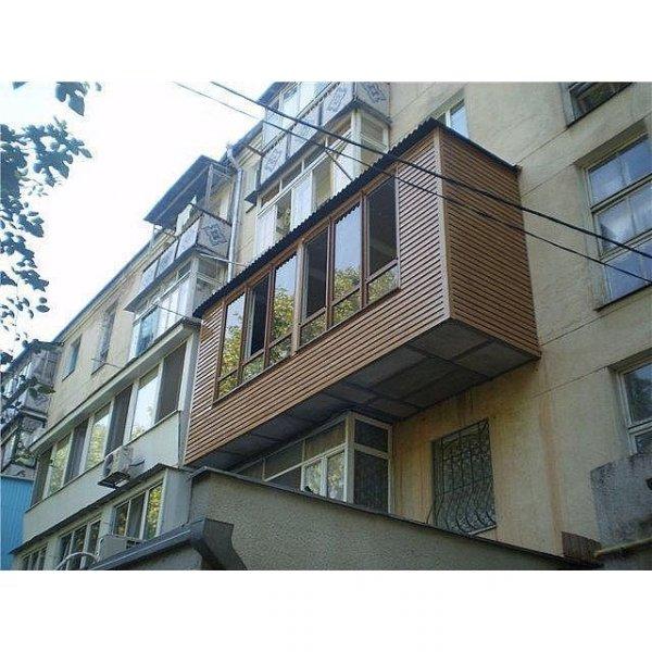 Балкон в винтажном стиле