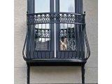 Фото 1 Кованые балконы и ограждения - эскизы, фото. Купить у производителя 336394
