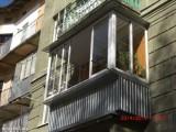 Балконы под ключ. Весь спектр работ.Окна металопластиковые