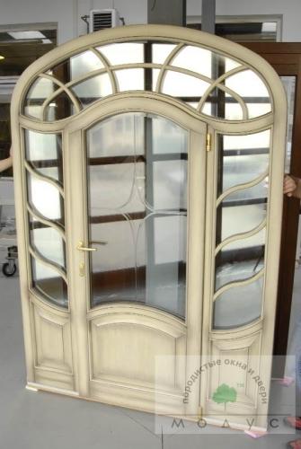 Балконные, деревянные двери входные, Модус Днепропетровск