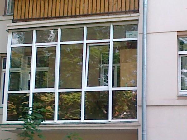 Балконный блок (алюминий или металлопластик)