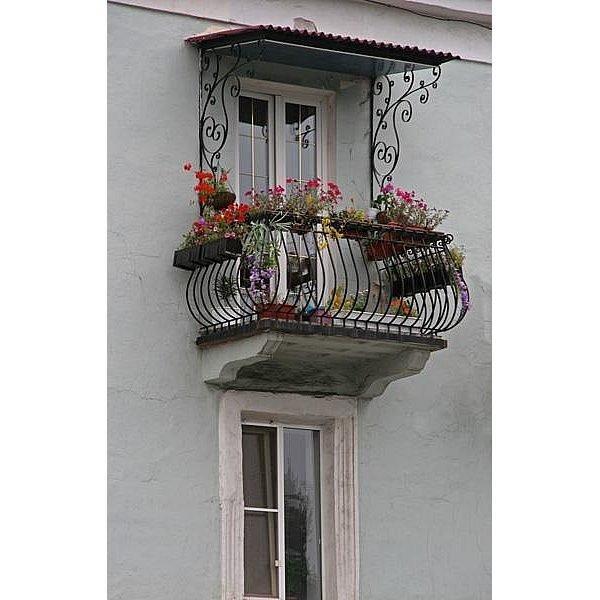 Фото  1 Балконный блок из теплой профильной системы 1444804