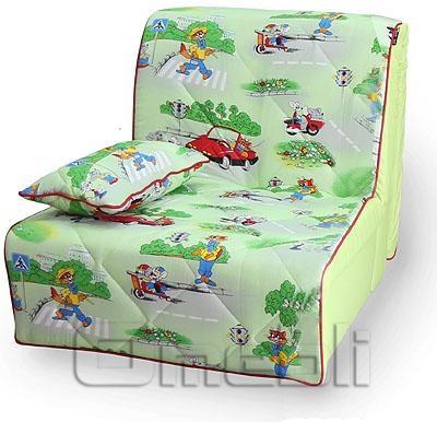 Бамбино Аккордеон кресло Бязь зеленая A33049