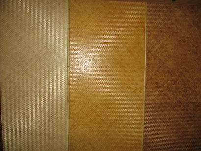 Бамбуковая плита светлая 2,44*1,22 2-ухслойная толщиной 3-4мм, стеновая (потолочная)