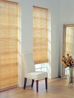 Бамбукові ролети - рулонні штори з натуральних матеріалів.
