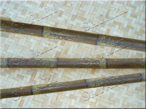 Бамбуковый ствол Леопардовый :длина 3м;диаметр 5-6см