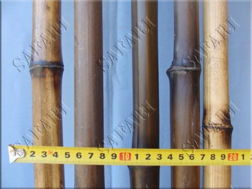 Бамбуковый ствол Обожженный: длина 3м;диаметр 3-4см;