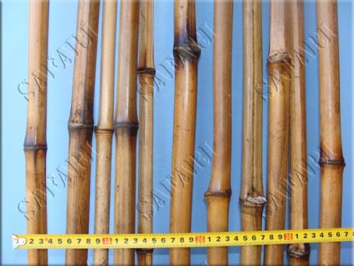 Бамбуковый ствол Обожженный:длина 3м;диаметр до 3см