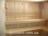 Фото  1 Дерев'яна вагонка з липи широко використовується в будівництві саун, лазень. Суха, шліфована. 1867185