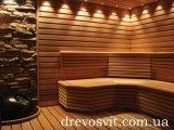 Лежак (брус, полиці) для лазні, сауни - липа, вільха. Висока якість обробки деревини. Ціни від виробника.