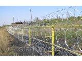 Фото  1 Барьер спиральный оцинкованный 450х3, на 3 скобы, (в бухте 10мп) Україна 2190085
