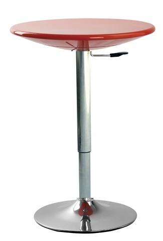 Барный стол Амира, регулируемый, цвет красный