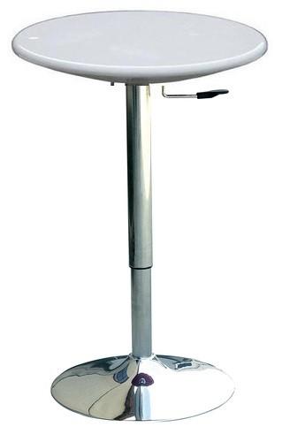 Барный стол Амира, регулируемый, цвет серебристый