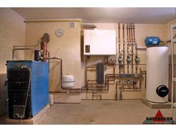 Барракуда - монтаж современных систем отопления, монтаж тепловых насосов.