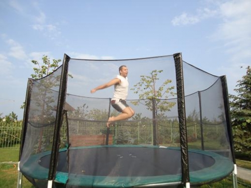 Батут гимнастический 426 см