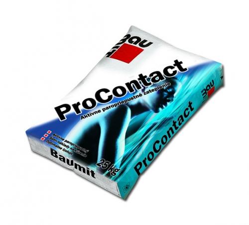 Баумит Baumit ProContact Универсальная клеевая шпаклевка для систем теплоизоляции Baumit